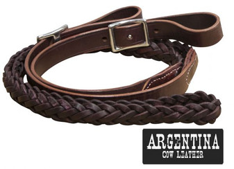 Leather Contest Reins 7ft