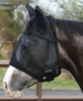 Lami-Cell Fine Mesh Fly Mask With Ears- DRAFT SIZE