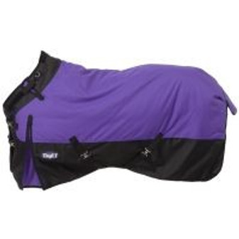 Tough-1 1200D Waterproof Poly Snuggit Turnout Blanket 72""