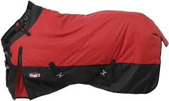 Tough-1 1200D Waterproof Poly Snuggit Turnout Blanket 78""