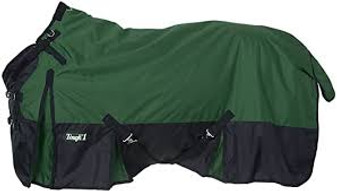Tough-1 1200D Waterproof Poly Snuggit Turnout Blanket 81""