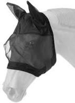 Deluxe Comfort Mesh Fly Mask - Horse