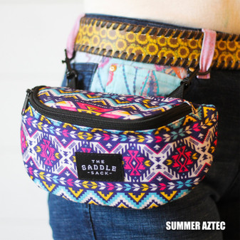 Hip Sack- Summer Aztec