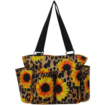 Leopard Sunflower NGIL Small Utility Tote