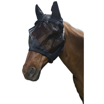Tough1 Deluxe Comfort Mesh Fly Mask-PONY