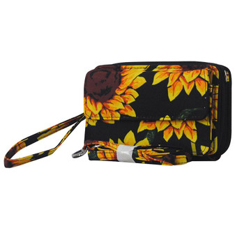 Sunflower NGIL Canvas All In One Wallet