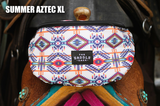 XL Saddle Sack- *NEW* Summer Aztec