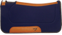 "1"" Contoured Ranch Pad - Navy 32x32"