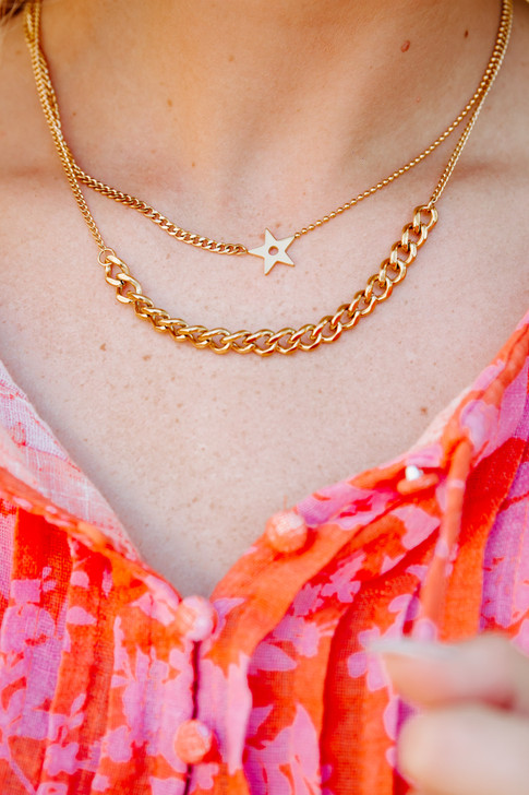 Astro Layered Necklace