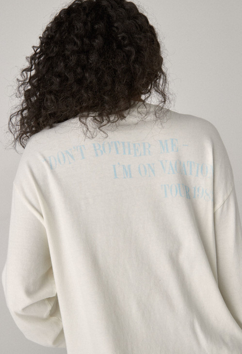 The Gogo's Vacation Long Sleeve Crop