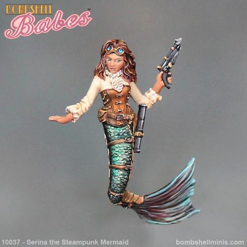 10037 - Serina the Steampunk Mermaid