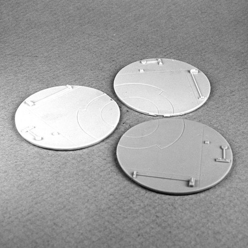 50014 - Resin Base Inserts - Deck Plating 50mm (3)