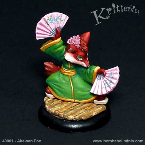 40001 - Aka-san Fox