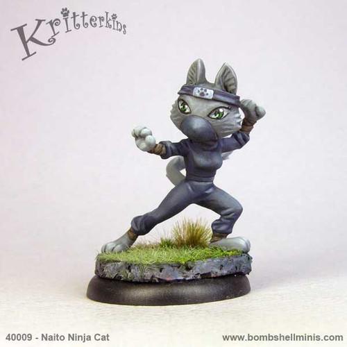 40009 - Naito, Cat Ninja
