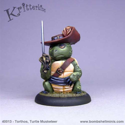 40013 - Torthos, Musketeer Turtle