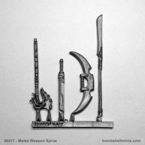 36017 - Counterblast Melee Weapons Sprue