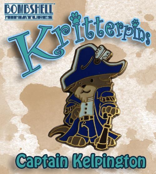 Kritterpin - Captain Kelpington, Sea Otter