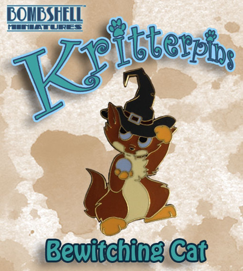 Kritterpin - Bewitching Cat