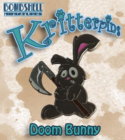 Kritterpin - Doom Bunny