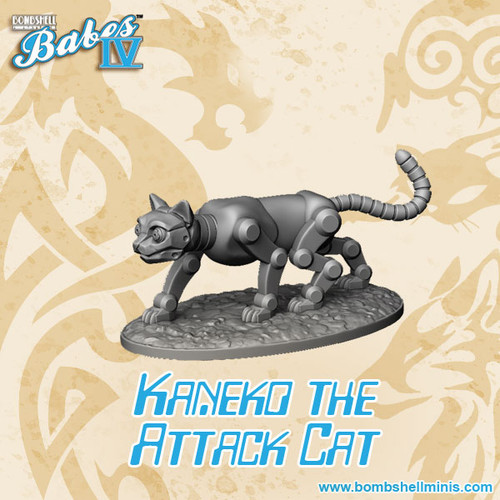 60036 - Kaneko the Robot Attack Cat