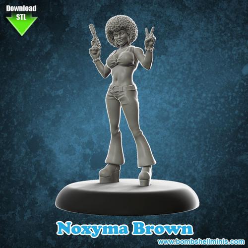 """81005 - Noxyma """"Noxy"""" Brown - Digital STL Download"""