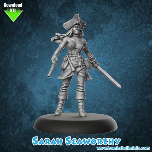 81007 - Sara Seaworthy - Digital STL Download