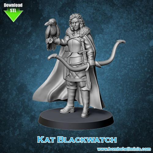 81009 - Kat Blackwatch - Digital STL Download