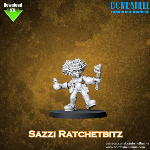 81016 - Sazi Ratchetbitz - Digital STL Download
