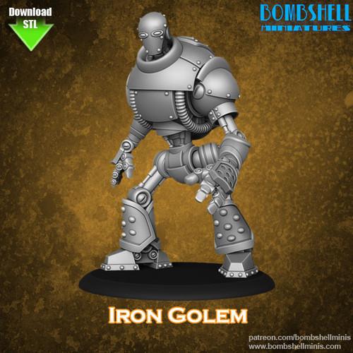 82002 - Iron Golem - Digital STL Download