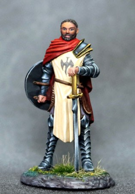 DSM 7632 - Male Paladin with Bastard Sword and Shield