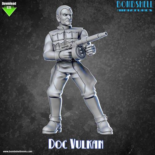 82006 - Doc Vulkan - Digital STL Download