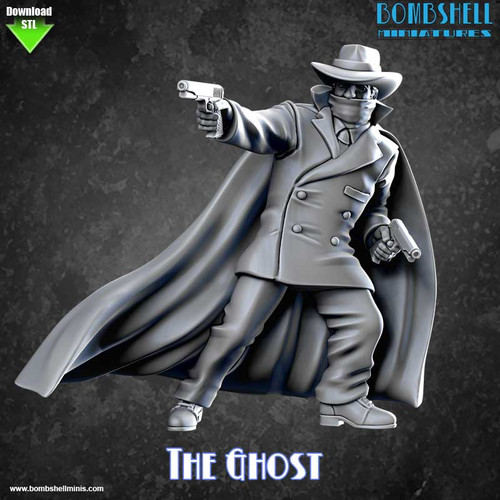 82007 - The Ghost - Digital STL Download
