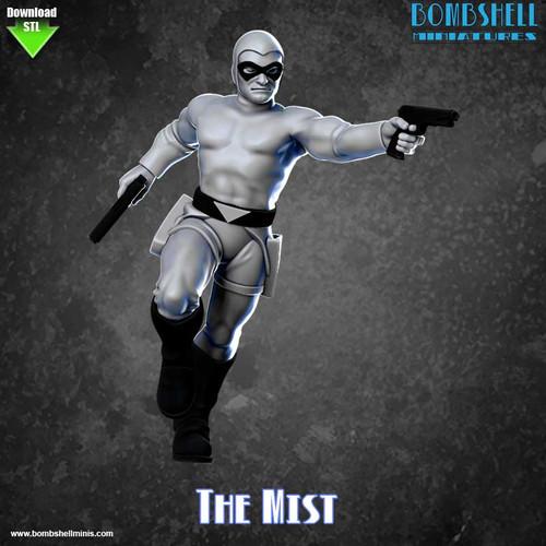 82010 - The Mist - Digital STL Download