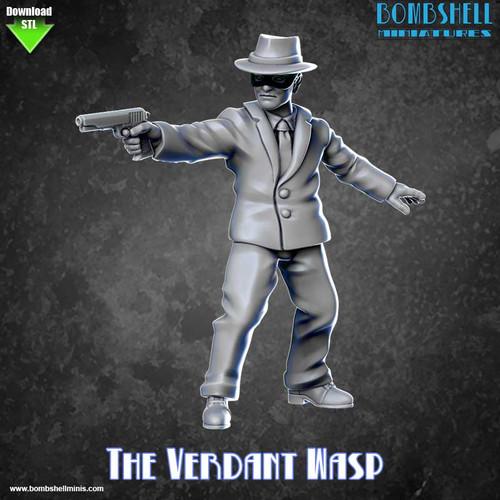 82011 - The Verdant Wasp - Digital STL Download