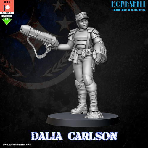 Dalia Carlson - Digital STL Download