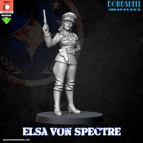 Elsa Von Spectre - Digital STL Download