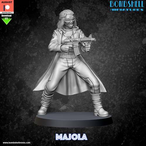 Majola - Digital STL Download