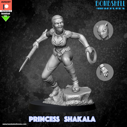 Princess Shakala - Digital STL Download