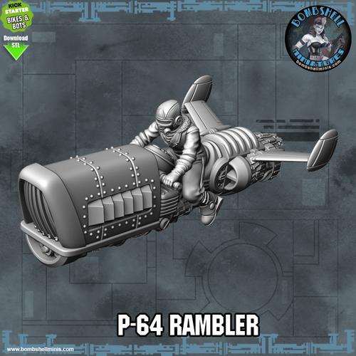 P-64 Rambler Rocket Bile - Digital STL Download