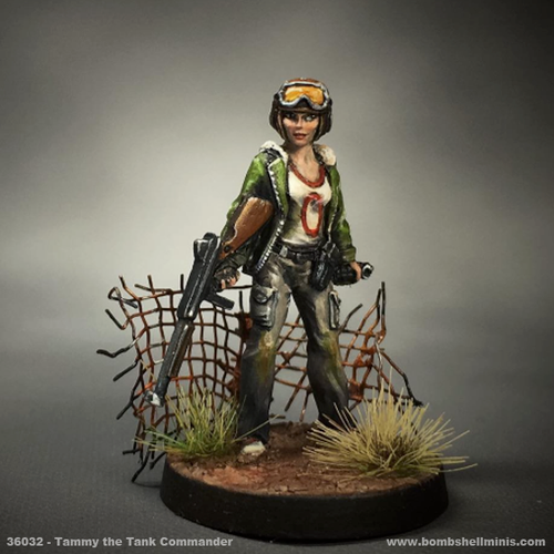 36032 - Tammy the Tank Girl