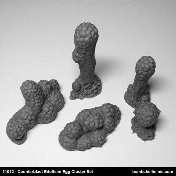 31012 - Counterblast Edofleini Egg Clusters set