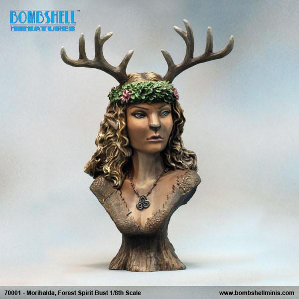 70001 - Morihalda Forest Spirit Bust
