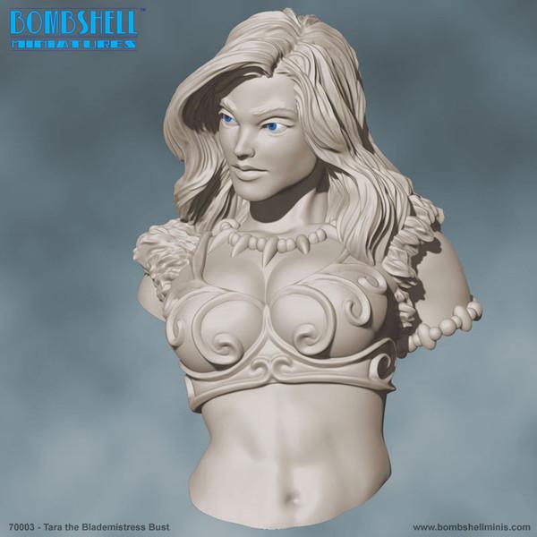 70003 - Tara the Blademistress Bust