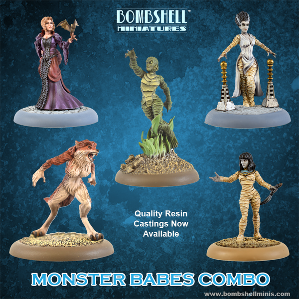 Monster Babes Combo