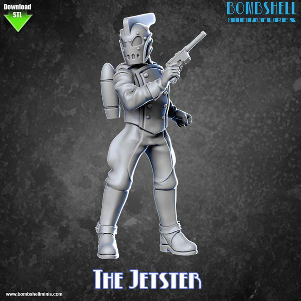 82008 - The Jetster - Digital STL Download