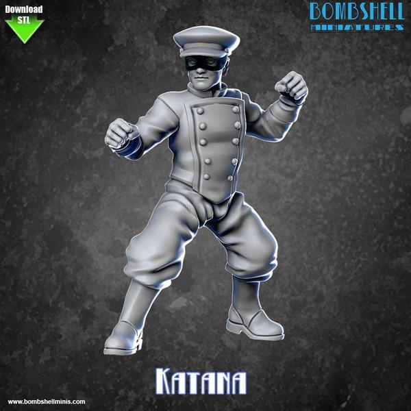 82009 - Katana - Digital STL Download