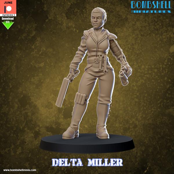 Delta 2020 - Digital STL Download