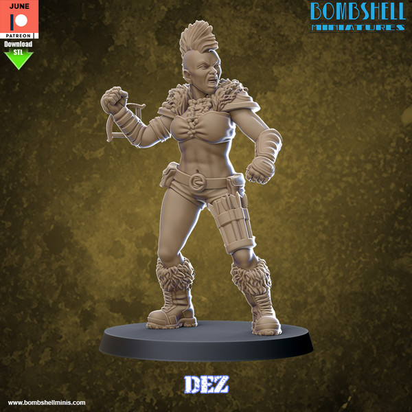 Dez - Digital STL Download