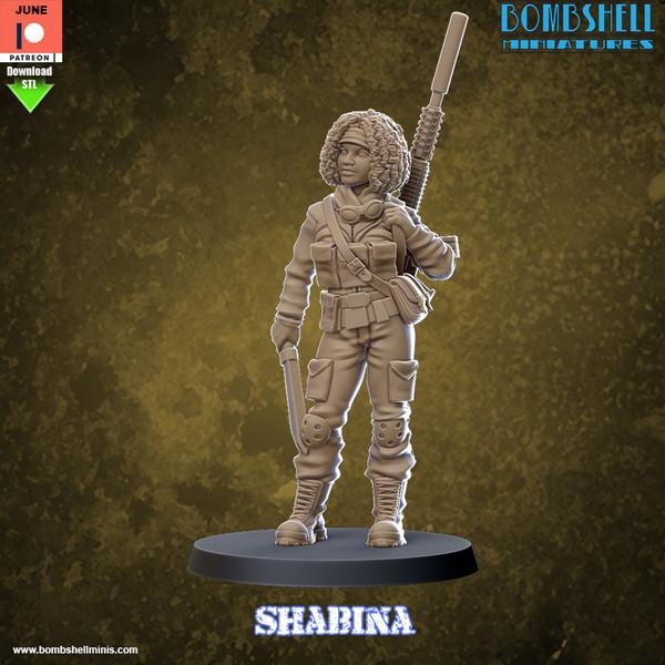 Shabina - Digital STL Download