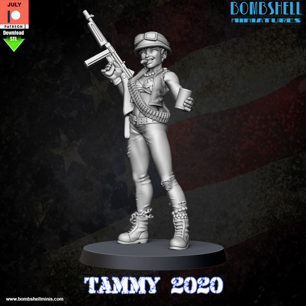 Tammy 2020 - Digital STL Download